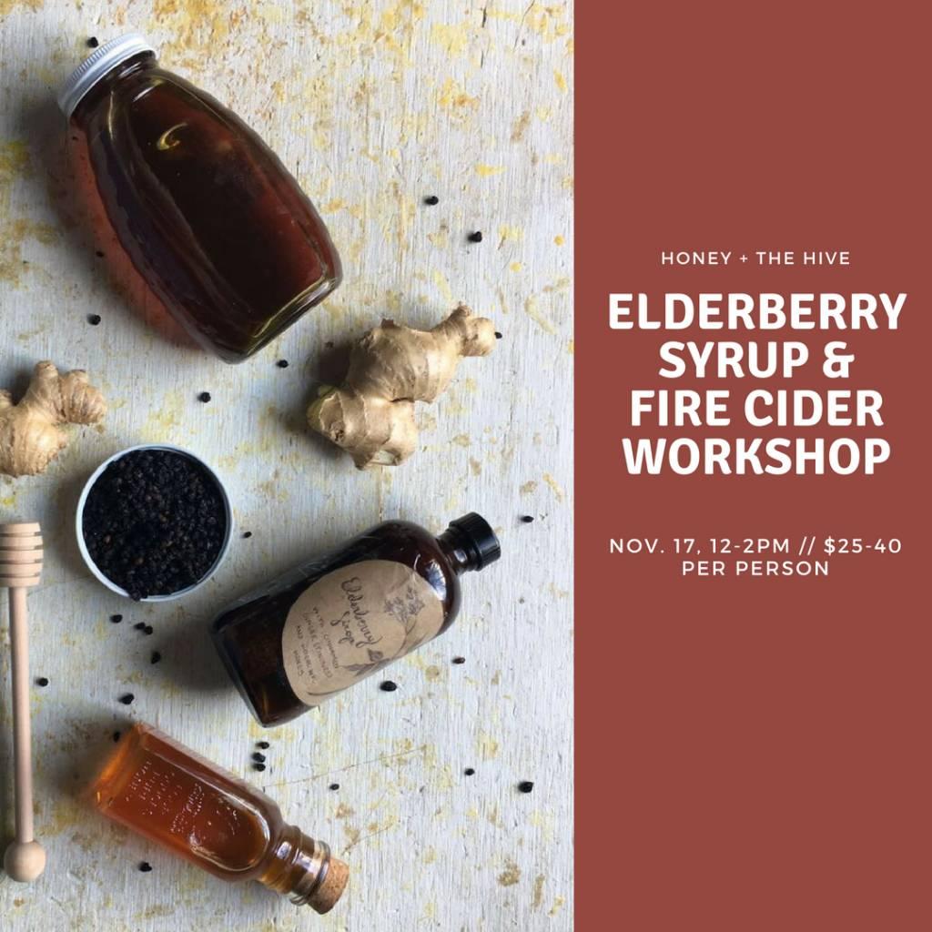 Elderberry Syrup & Fire Cider Workshop