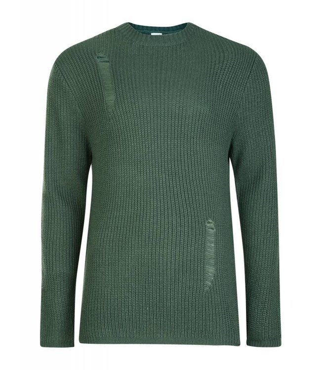 BELLFIELD Bellfield - Distressed Sweater
