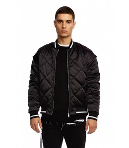 KUWALLA TEE Superdry - Quilted Satin Bomber