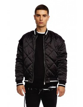SUPERDRY Superdry - Quilted Satin Bomber