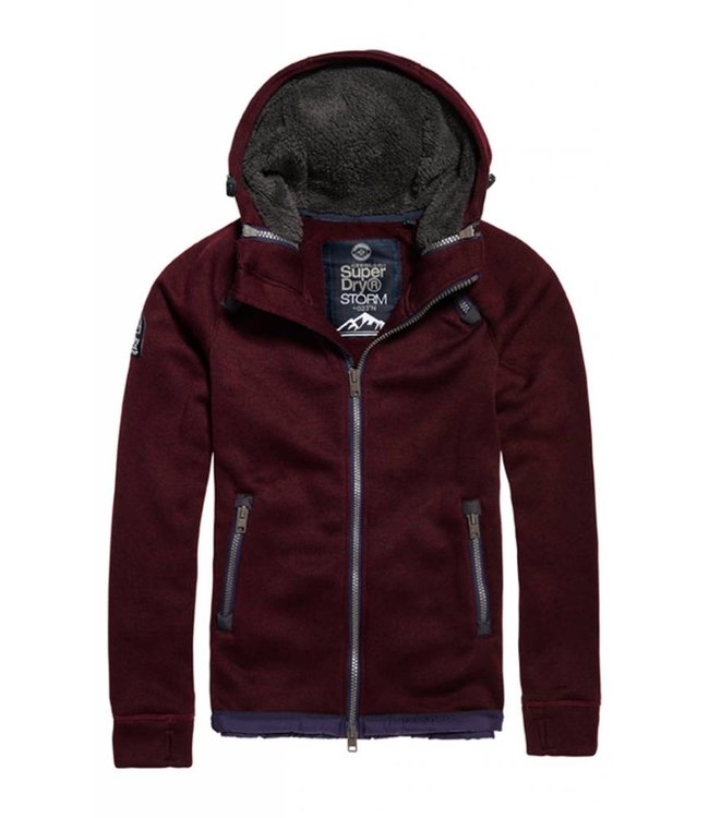 SUPERDRY Superdry - Sweat à capuche à double zip Storm