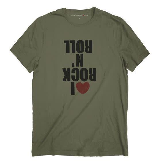 THROAT THREADS John Varvatos - I Love Rock N Roll Graphic Tee