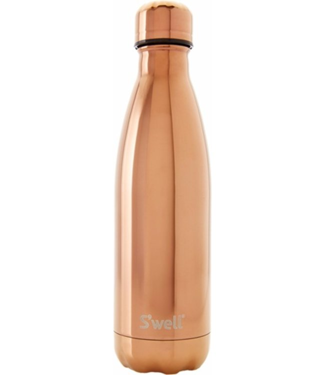SWELL S'well Rose Gold Metallic Water Bottle