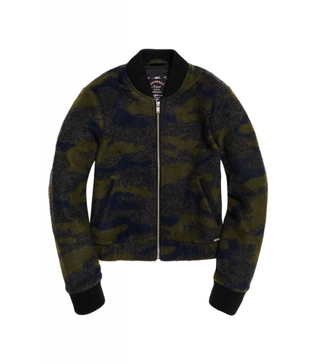 SUPERDRY Superdry - Eviewoll bomber - Jacket