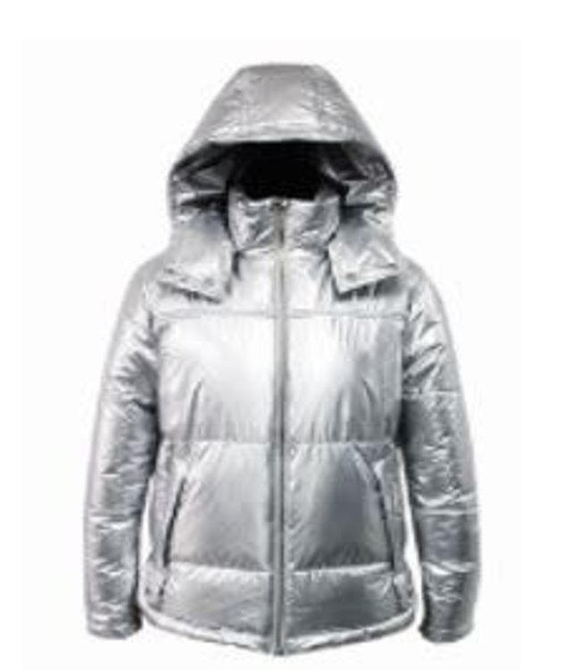 KENDALL & KYLIE Kendall & Kylie - Silver jacket