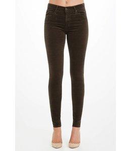 AG ADRIANO GOLDSCHMIED AG - Farrah skinny velvet - Pants