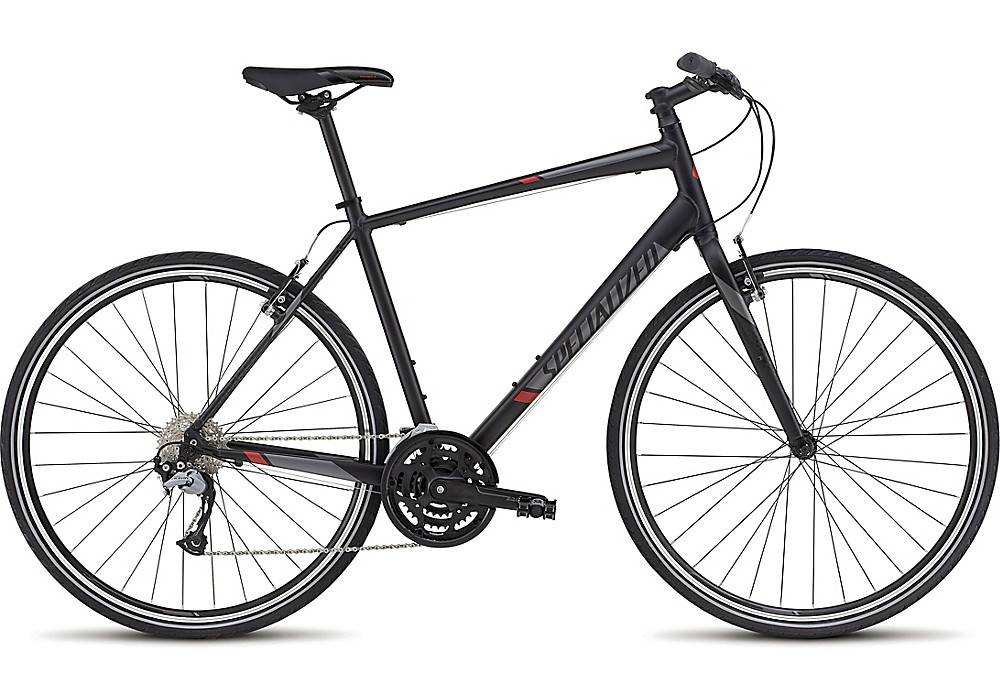 Specialized Sirrus Sport Sil/Blk/Red Large 2016