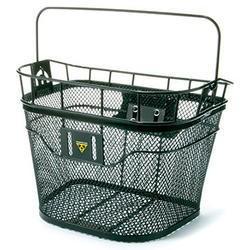 Topeak Topeak Front Basket w/Handlebar Bracket Black