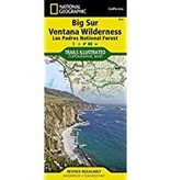 National Geographic Trail Map Big Sur