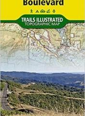 National Geographic Trail Map Skyline Blvd