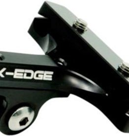 K-Edge K-Edge GO BIG GoPro and Garmin Camera Saddle Rail Mount, Black