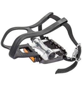 SUNLITE Sunlite Alloy Pedal/Clips & Straps