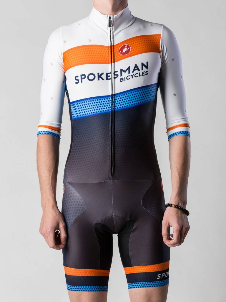 Spokesman Bicycles Spokesman Team CX Suit 3/4 Sleeve 2017