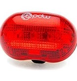 PDW Portland Design Works Red Planet Rear Light, Red