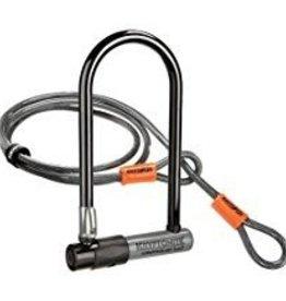 Kryptonite Krypto Series 2 STD U-Lock 4' Flex Cable and Bracket