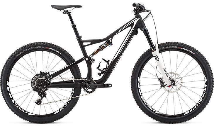 Specialized Stumpjumper FSR Elite 650b Blk/Wh Med 2016