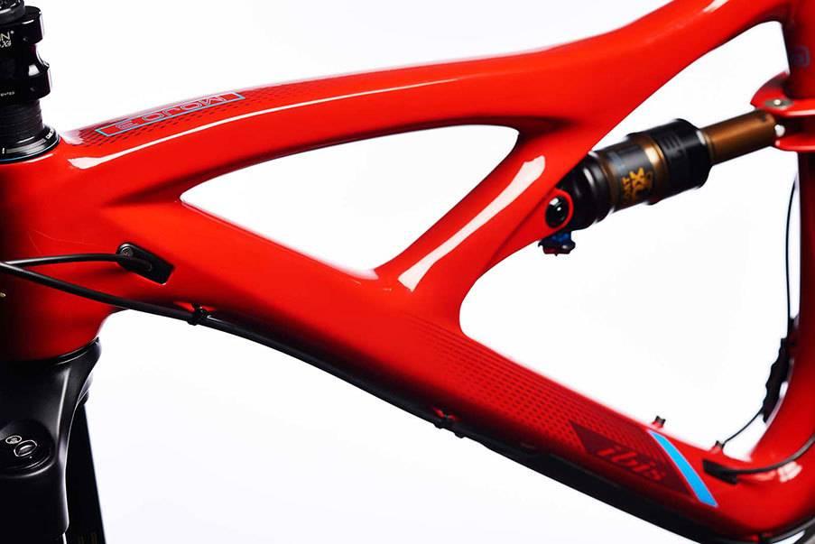 Ibis Cycles Ibis Mojo 3 Corinthian Red, LG , GX Eagle, Fox Factory, 742 i9