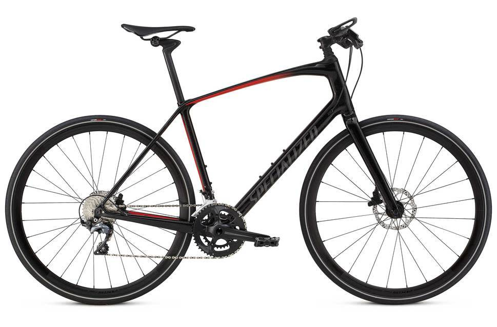 Specialized Specialized Sirrus Pro Carbon 2018 Black/Red XL