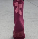 Donkey Label Cross X Magenta Socks