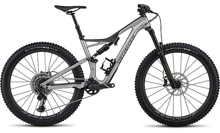Specialized Stumpjumper Pro 27.5 2018 Platinum Large