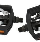 Shimano Shimano PD-T421 Black Dual Sided Platform Pedal Click'R SPD