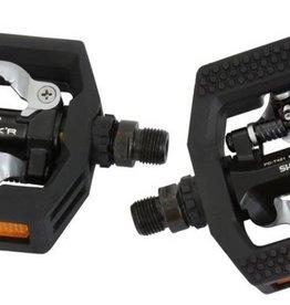 Shimano PD-T421 Black Dual Sided Platform Pedal Click'R SPD