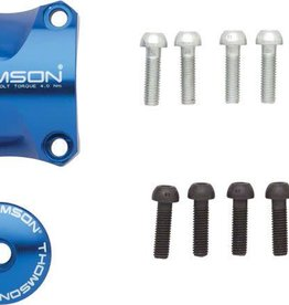 Thomson Stem Faceplate Dress Up Kit For X4: 31.8mm Blue