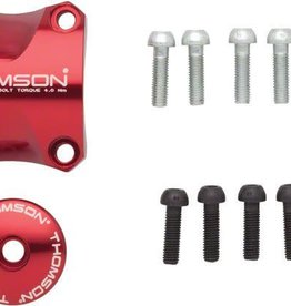 Thomson Thomson Stem Faceplate Dress Up Kit For X4: 31.8mm Red