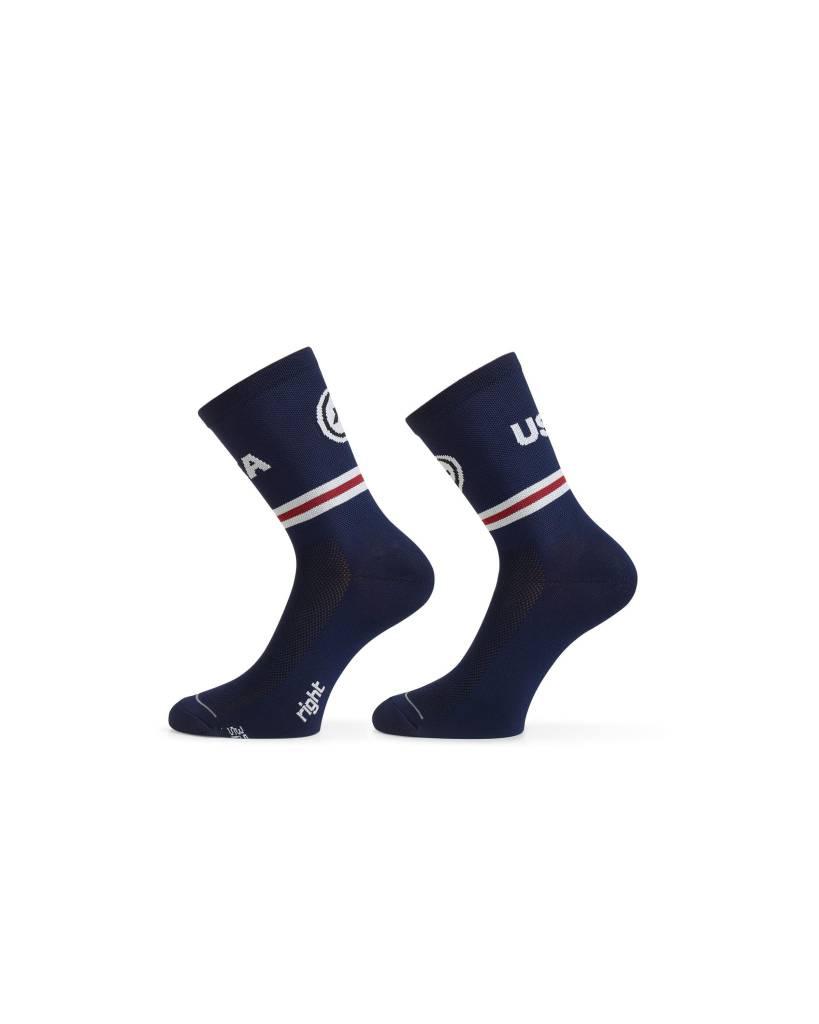 Assos Assos USA Cycling Sock
