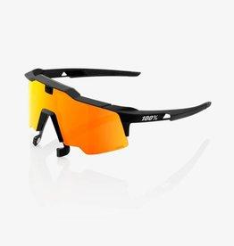 100% 100% Speedcraft AIR Soft Tact Black - HiPER Red Multilayer Mirror