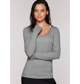 Abbey Hooded Excel L/Slv Top