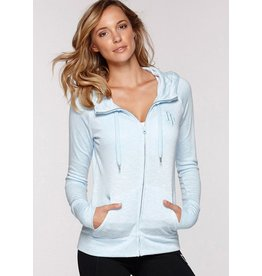 Lush Hooded Zip Through