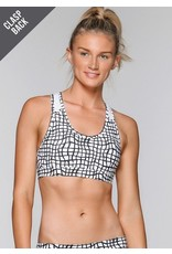 Mixed Monochrome Sports Bra