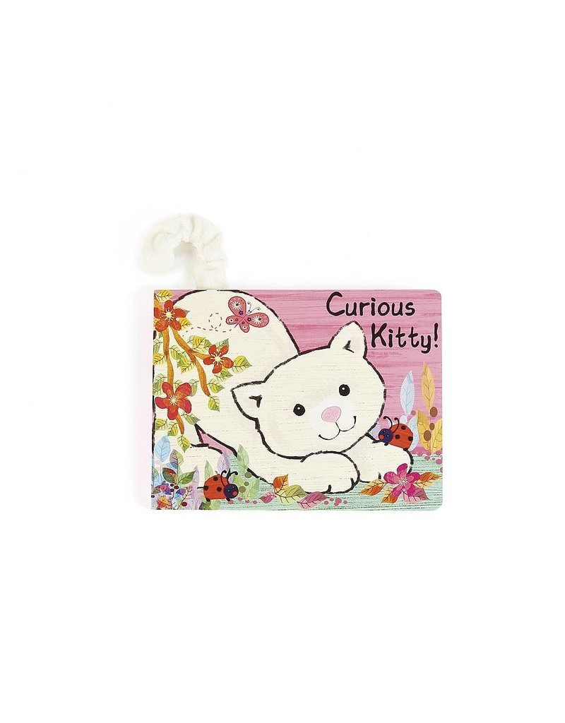 Jellycat Curious Kitty Book