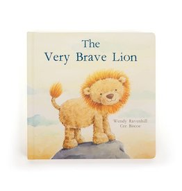 Jellycat Jellycat The Very Brave Lion Book