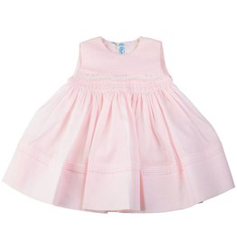 Feltman Brothers Feltman Brothers Sleeveless Dress w Pintucks&Lace 27209