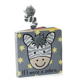 Jellycat Jellycat If I were a Zebra