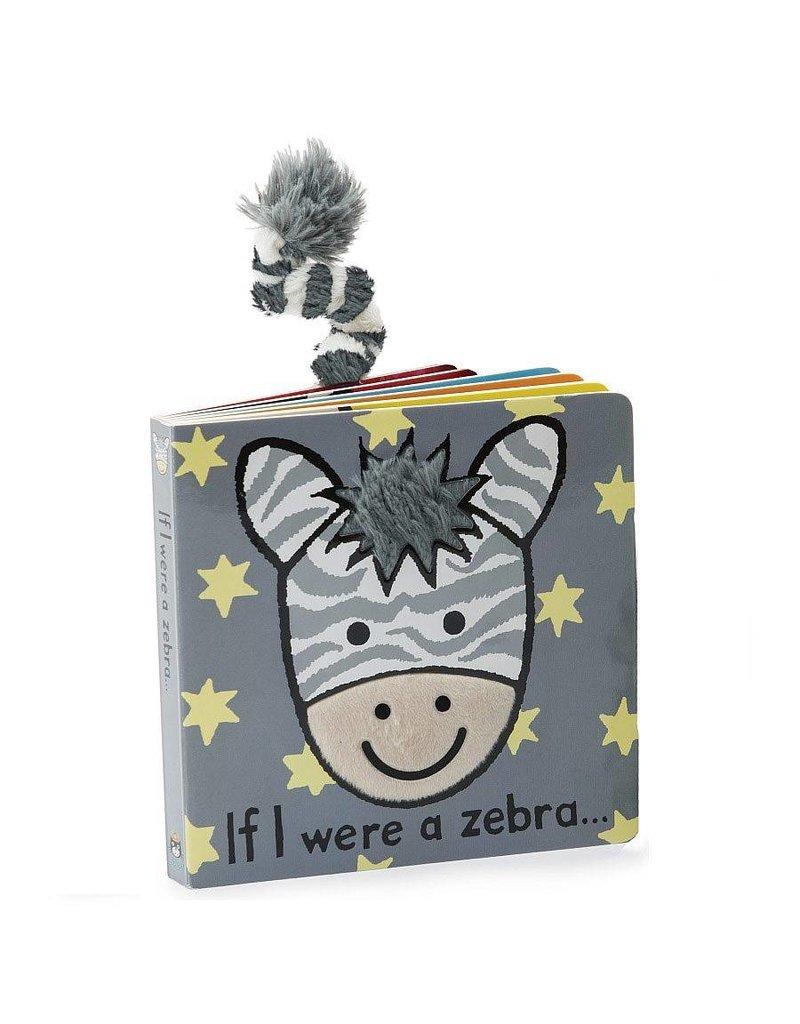 Jellycat Jellycat If I were a Zebra