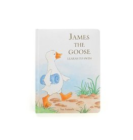 Jellycat Jellycat James the Goose Learns to Swim Book