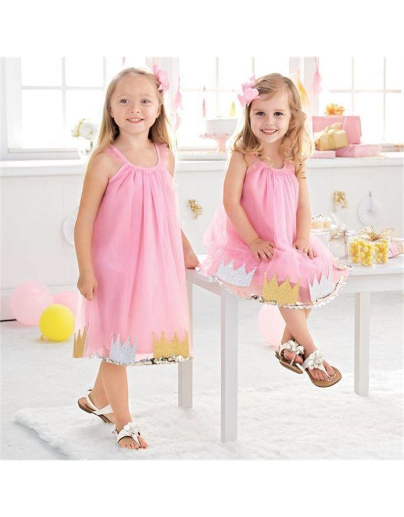 Mud Pie Mud Pie Pink Princess Dress