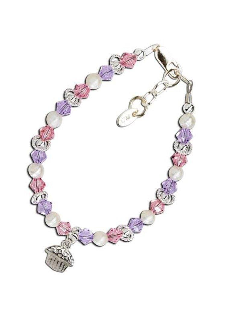 Cherished Moments Cherished Moments Sweet Cupcake Bracelet