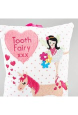 Floss & Rock Floss & Rock Tooth Fairy Cushion