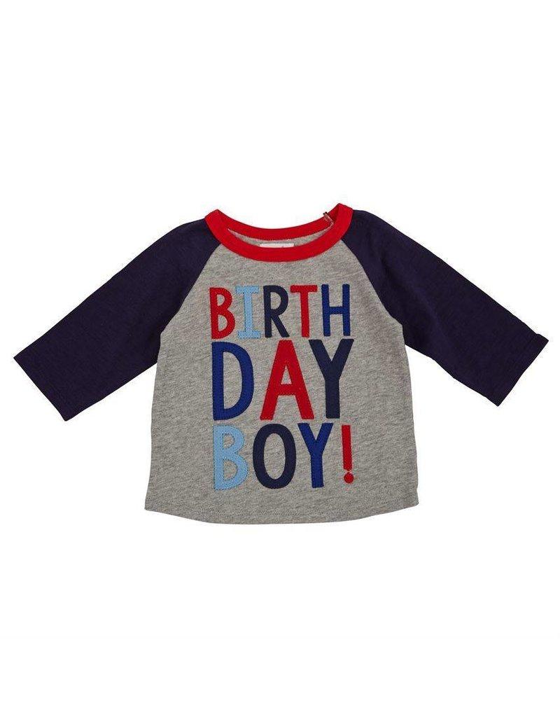 Mud Pie Mud Pie Birthday Boy Cape Shirt