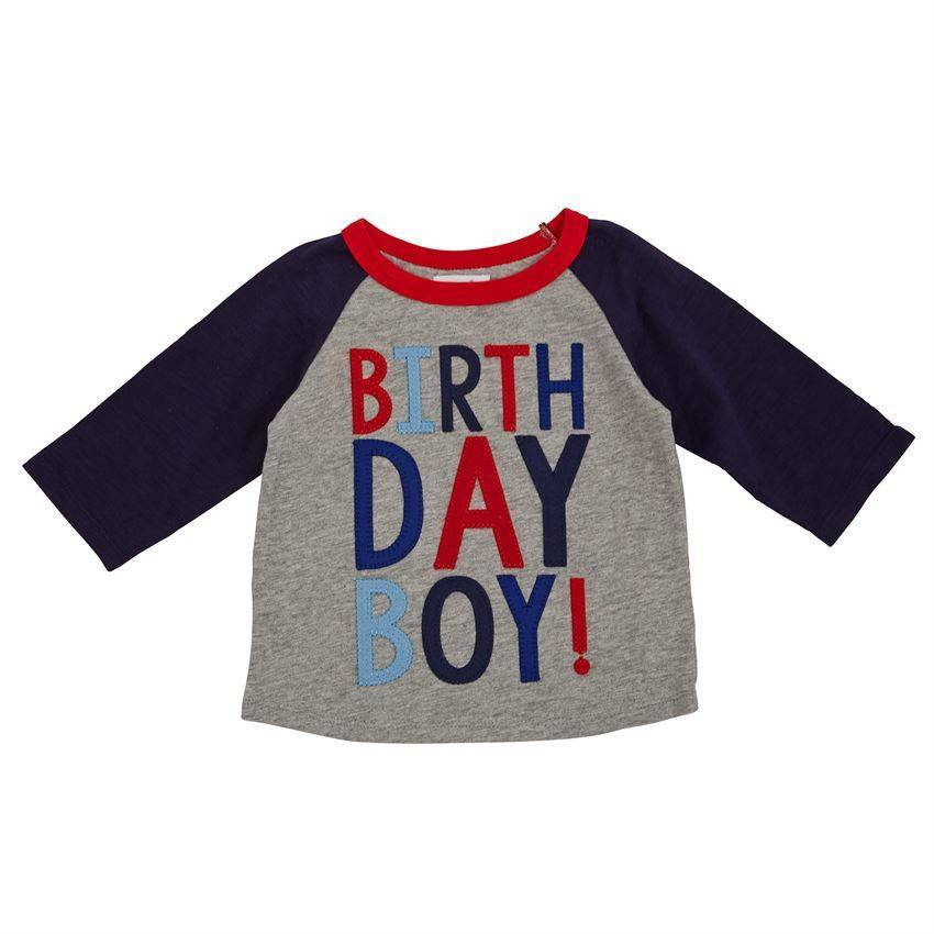Mud Pie Mud Pie Birthday Boy Cape Shirt