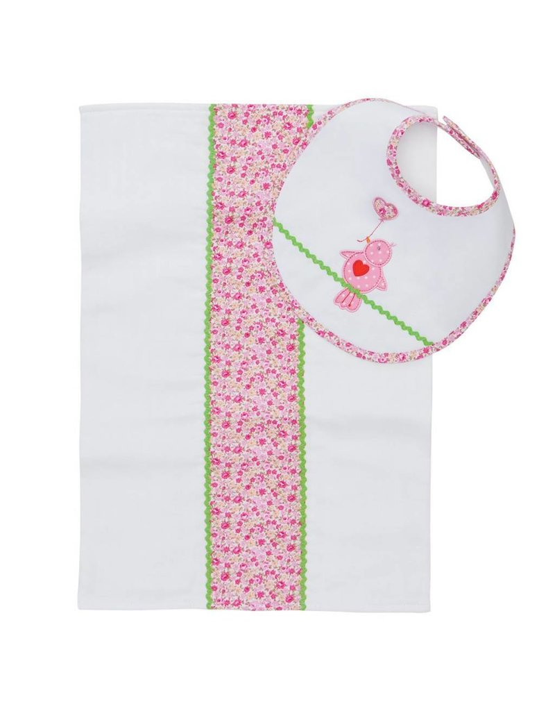 Elegant Baby Elegant Baby Bib and Burp Set