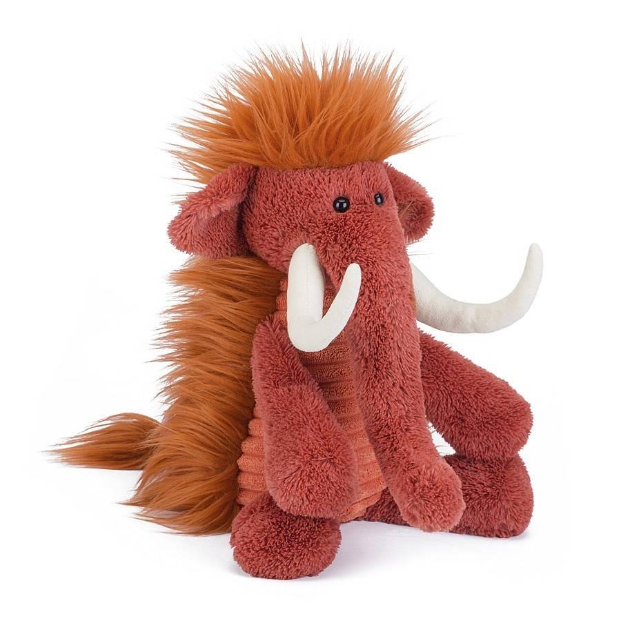 "Jellycat Jellycat Snagglebaggle Plush 14"" Wooly Mammoth"