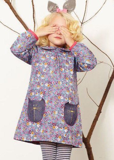Lilly + Sid Lilly + Sid Kitty Pocket Woven Dress