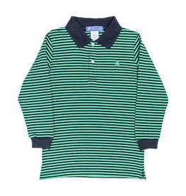 Bailey Boys Bailey Boys Toddler Long Sleeve Striped Polo