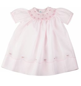 Feltman Brothers Feltman Pearl Flower Bishop Dress 86549F