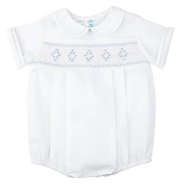 Feltman Brothers Feltman Smocked Embroidered Diamond Creeper 23940